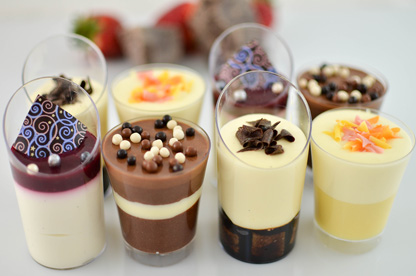 Shot assortment. Opera Patisserie. www.operapatisserie.com